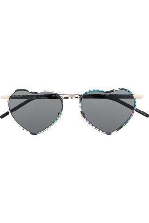 Saint Laurent Eyewear Sonnenbrillen - SL301 LouLou heart-shaped sunglasses