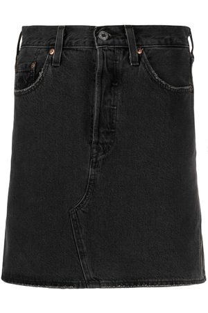 Levi's High-waist denim skirt