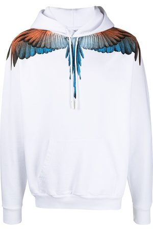 Marcelo Burlon County of Milan Herren Sweatshirts - Wings-print cotton hoodie