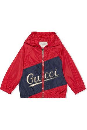 Gucci Kids Logo-print hooded jacket
