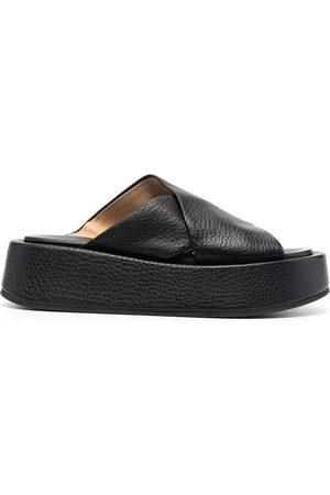 Marsèll Cross strap platform sandals