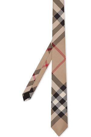 Burberry Herren Krawatten - Classic Cut Check Silk Tie
