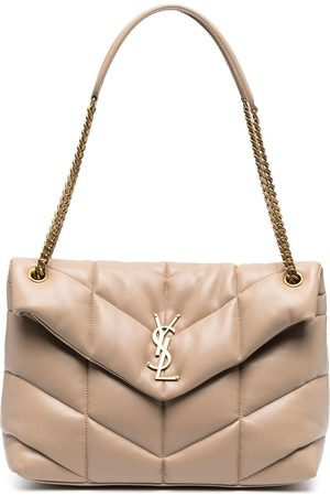 Saint Laurent Loulou Puffer quilted shoulder bag