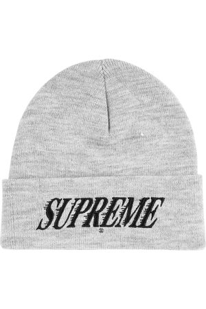 Supreme Hüte - Logo-embroidered beanie