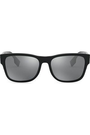 Burberry Eyewear Herren Sonnenbrillen - Logo Appliqué Square sunglasses