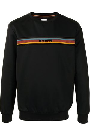 Paul Smith Herren Sweatshirts - Rainbow-stripe sweatshirt