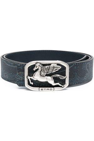 Etro Herren Gürtel - Logo-buckle belt