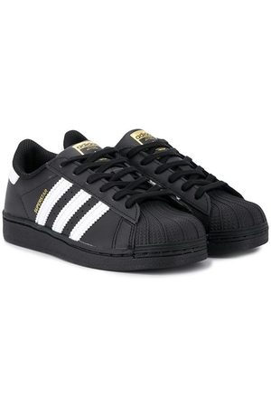 adidas Kids Superstar lace-up sneakers