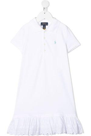 Ralph Lauren Flounce hem polo shirt