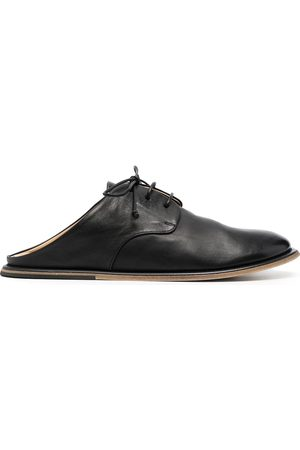 MARSÈLL Lace-up leather mules