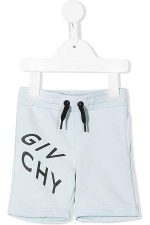 Givenchy Kids Logo-print jersey shorts