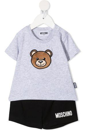 Moschino Kids Teddy Bear-print two-piece set