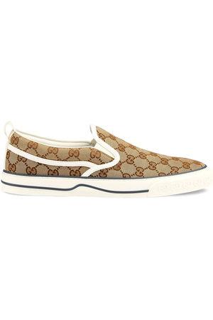 Gucci GG Supreme slip-on sneakers