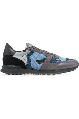 Valentino Garavani Camouflage-print low-top sneakers
