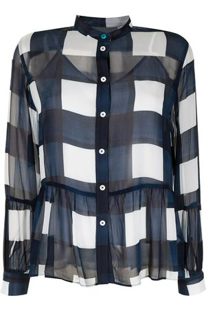 PS Paul Smith Bold-checked blouse