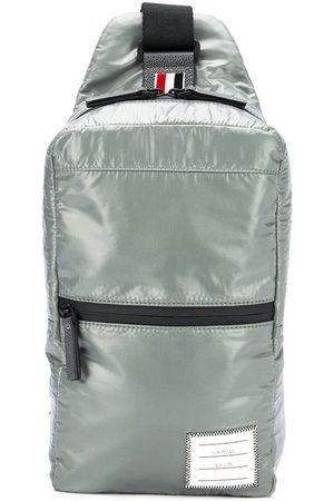 Thom Browne Logo patch crossbody backpack