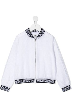 Karl Lagerfeld Mädchen Sommerjacken - Ceremony organza bomber jacket