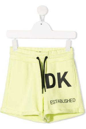 Dkny Kids Mädchen Shorts - Logo-print cotton shorts
