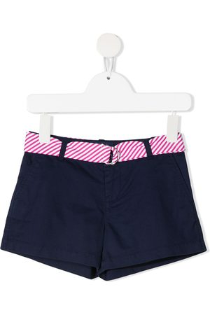 Ralph Lauren Kids Mädchen Shorts - Belted cotton-blend shorts