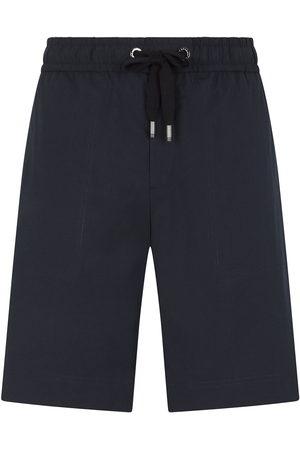 Dolce & Gabbana Herren Kurze Hosen - Logo-patch drawstring shorts