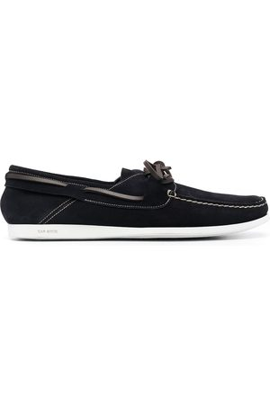 CAR SHOE Lace-up leather loafers