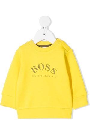 BOSS Kidswear Logo-print long-sleeve sweatshirt