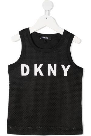 DKNY Mädchen Shirts - Logo print tank top