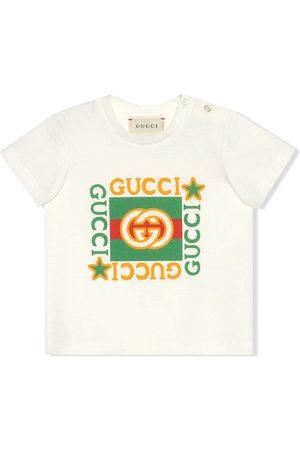 Gucci Kurze Ärmel - Gucci print short-sleeve T-shirt