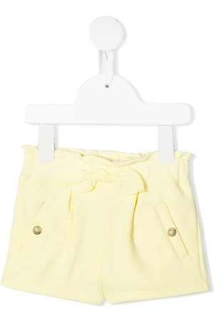 Chloé Kids Ruched knitted shorts