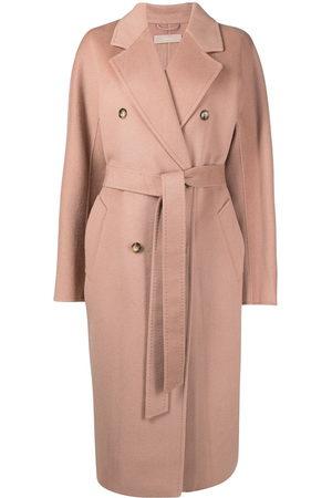 12 STOREEZ Damen Trenchcoats - Oversized double-breasted wool coat