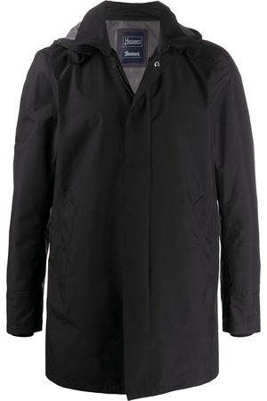 Herno Herren Regenjacken - Zip-up hooded jacket