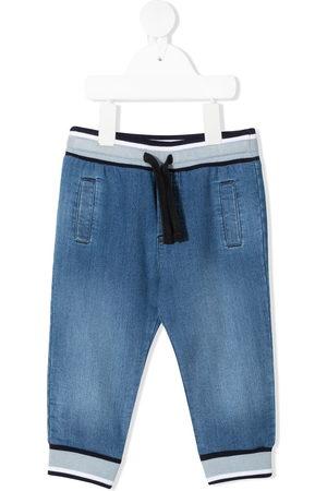Dolce & Gabbana Baby Jeans - Drawstring denim trousers