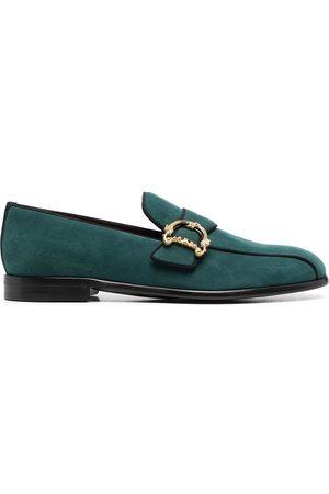 Dolce & Gabbana Herren Halbschuhe - Baroque logo-plaque loafers