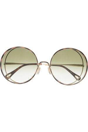 Chloé Eyewear Oversized round-frame sunglasses