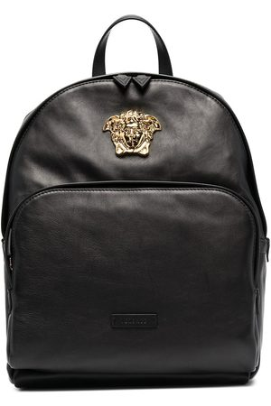 Versace Medusa plaque backpack