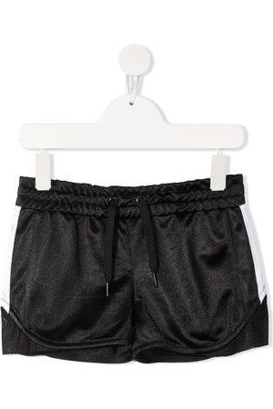 Dkny Kids Mädchen Shorts - Embroidered logo shorts