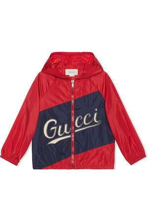 Gucci Kids Stitched logo jacket
