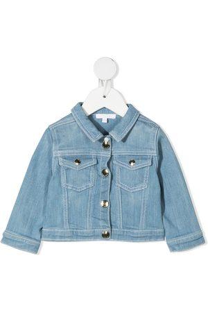 Chloé Kids Faded denim jacket