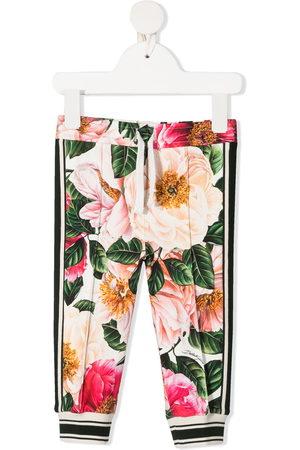 Dolce & Gabbana Baby Leggings & Treggings - Floral-print leggings