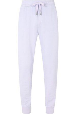 Dolce & Gabbana Tapered-leg cotton track pants