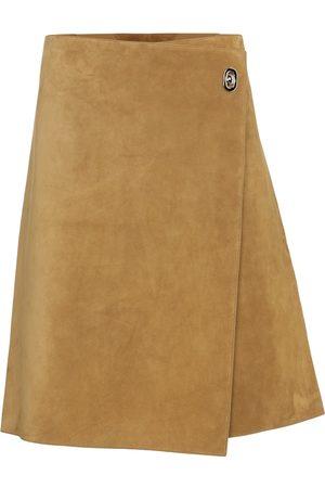 Bottega Veneta Damen Miniröcke - Minirock aus Veloursleder