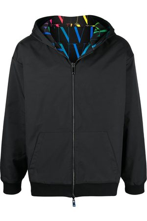 Valentino VLTN TIMES reversible zipped hoodie