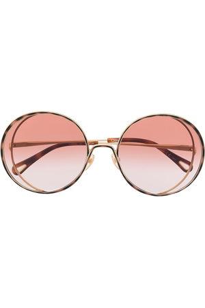 Chloé Eyewear Damen Sonnenbrillen - Round oversized sunglasses