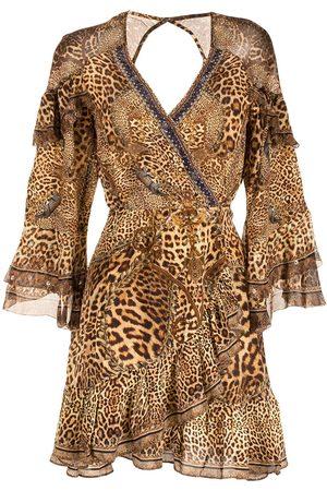 Camilla Damen Cocktail & Partykleider - Lady Lodge silk wrap dress