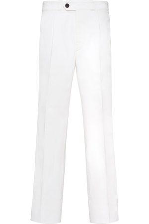 Prada Herren Straight - Cropped straight-leg jeans