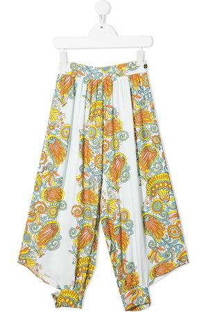 Lanvin Graphic-print culottes