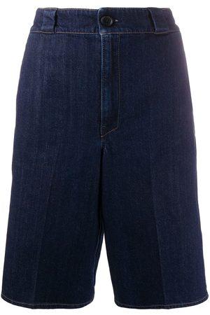 Prada Knee-length denim shorts