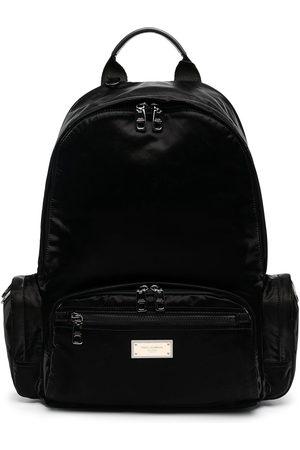 Dolce & Gabbana Herren Rucksäcke - Logo-plaque backpack