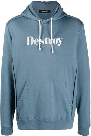 Undercover Herren Sweatshirts - Destroy embroidered pullover hoodie