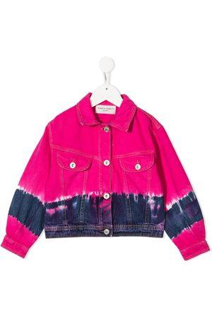 Alberta Ferretti Mädchen Jeansjacken - Tie-dye denim jacket